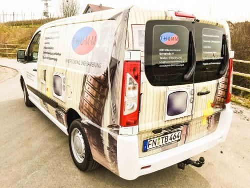 Fahrzeugbeschriftung – T.h.u.m.m