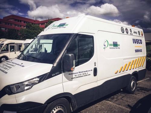 Iveco Servicemobil – Folienbeschriftung