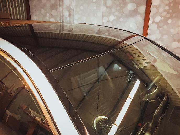 Autofolie für das Dach